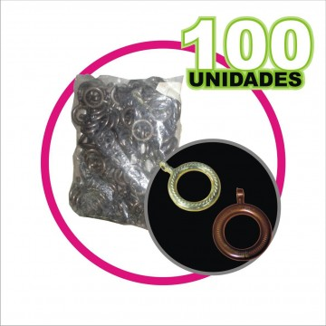 Argolla cafe 1` bolsa X 100...