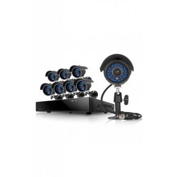 Kit 8 cámaras de vídeo y...