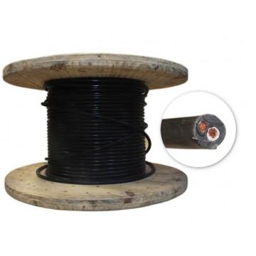 Cable encauchetado 2x10xm...