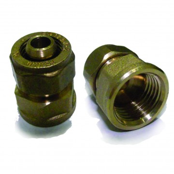 Conector hembra bronce...