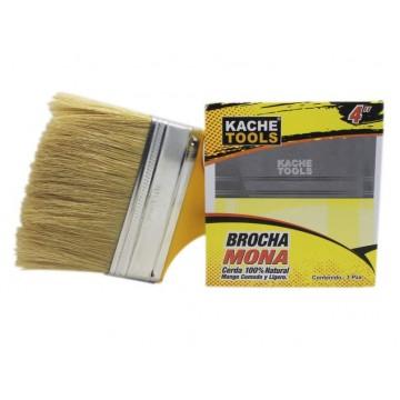 """Brocha mona 4"""" Kache tools"""