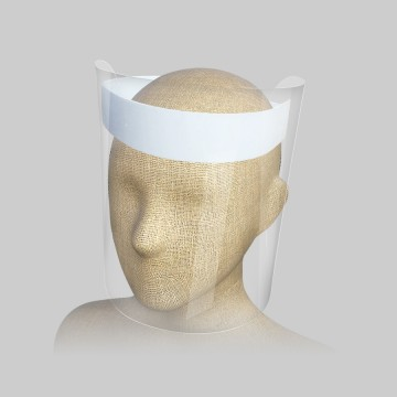 No careta proteccion facial...