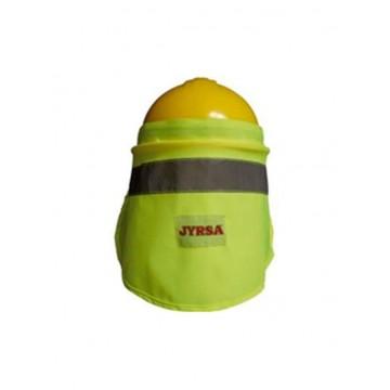 Nuquera para casco amarilla...